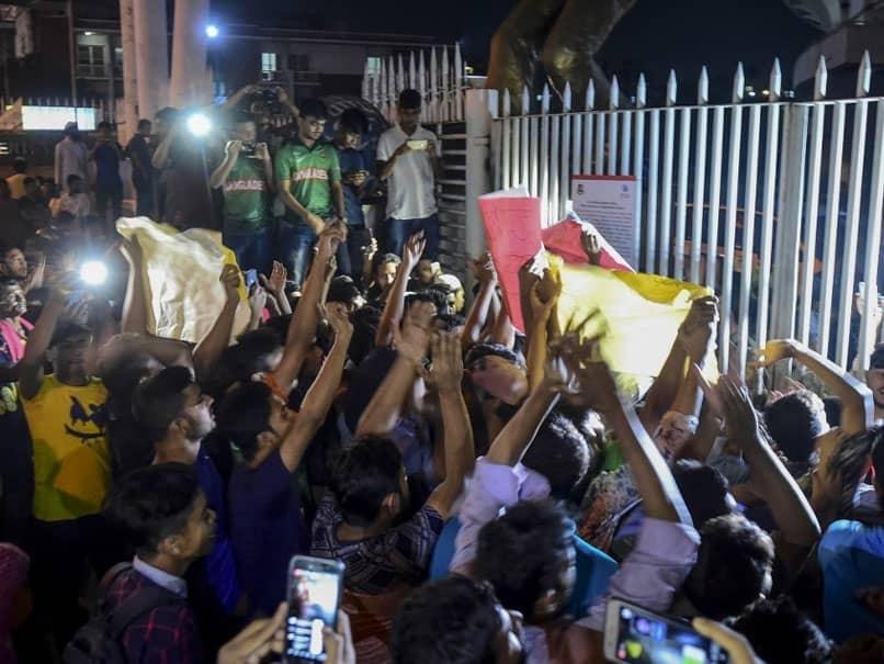Shakib Al Hasans Ban Leads To Protest In Bangladesh