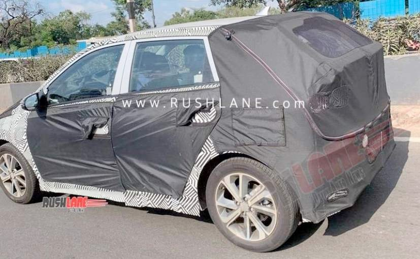 The new Hyundai i20 was spotted with rear disc brakes and will be the first car in this segment to get it