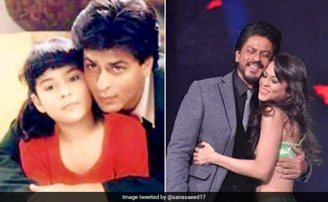 21 Years Of Kuch Kuch Hota Hai: Sana Saeed Shares An Adorable Throwback Pic With Shah Rukh Khan