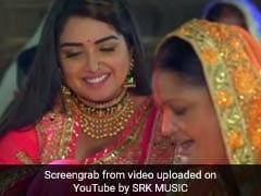 आम्रपाली दुबे के नए सॉन्ग का YouTube पर तहलका,  10 करोड़ से ज्यादा बार देखा गया Video