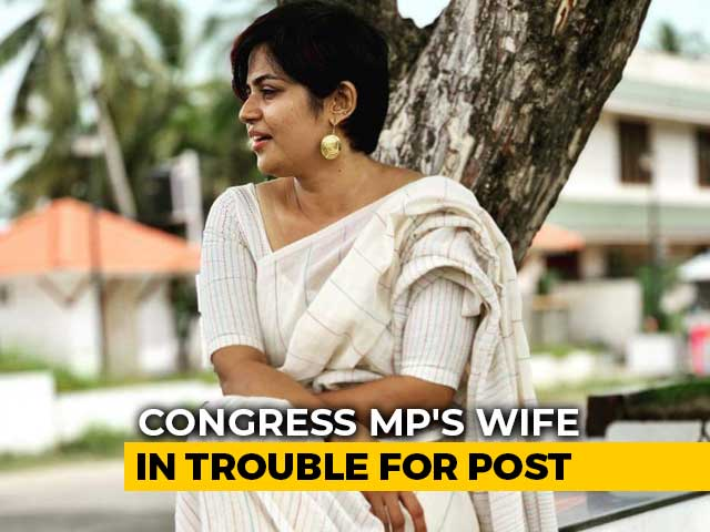 "Video : Congress MP's Wife Apologises For ""Fate Like Rape"" Post Amid Outrage"