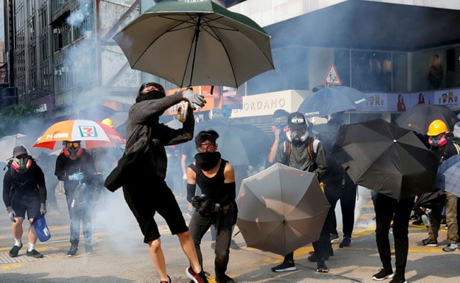 China Army In Hong Kong For 1st Time Since Pro-Democracy Protests Began