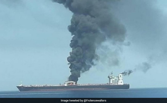 Explosion sets ablaze Iranian oil tanker near Saudi port