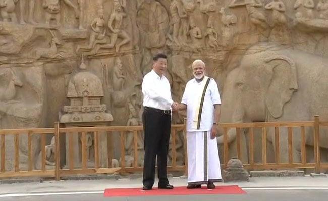 PM मोदी ने चीनी राष्ट्रपति Xi Jinping को महाबलीपुरम में दिखाई अर्जुन की तपस्या स्थली