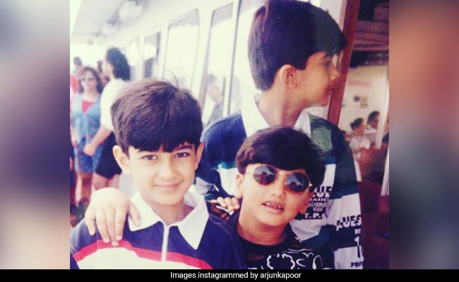 Arjun Kapoor's Throwback Pic With Cousins Mohit And Akshay Marwah Is All You Need To See Today