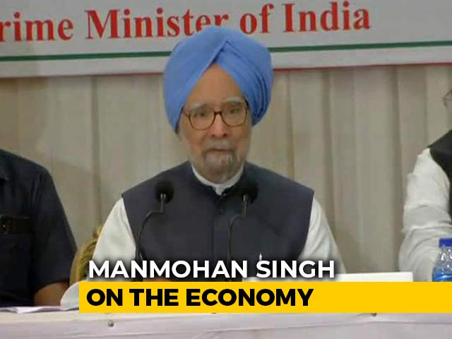 "Video : ""Government Apathy Impacting People's Aspirations,"" Says Manmohan Singh"