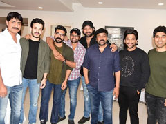 <i>Sye Raa Narasimha Reddy</i> Collects 100 Crore Worldwide, Chiranjeevi Parties With Family And Friends
