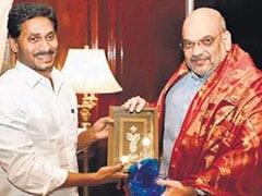 Jagan Mohan Reddy Meets Amit Shah, Raises Special Status Demand For Andhra Pradesh