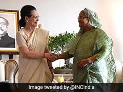 कांग्रेस अध्यक्ष सोनिया गांधी ने स्वीकार किया शेख हसीना का निमंत्रण, जाएंगी बांग्लादेश