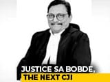 Video : Justice SA Bobde Appointed Next Chief Justice, Oath On November 18