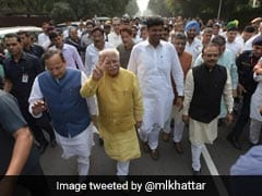 ML Khattar Expands Haryana Cabinet, 10 MLAs Inducted