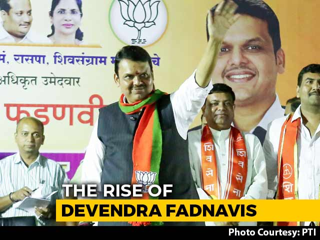 Video : From Mumbai Hostel Room To High Seat Of Power: Rise Of Devendra Fadnavis