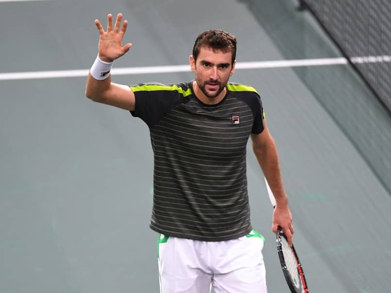 Marin Cilic, Jo-Wilfried Tsonga Progress After Roger Federer Pulls Out Of Paris Masters