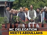Video : 2 Months Into Detention, Abdullahs Meet Party Leaders In Srinagar