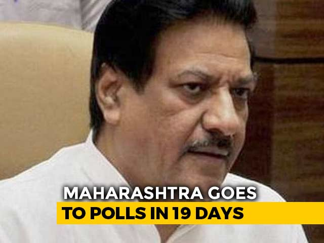 Video : Congress Releases Second Candidates' List For Maharashtra Assembly Polls