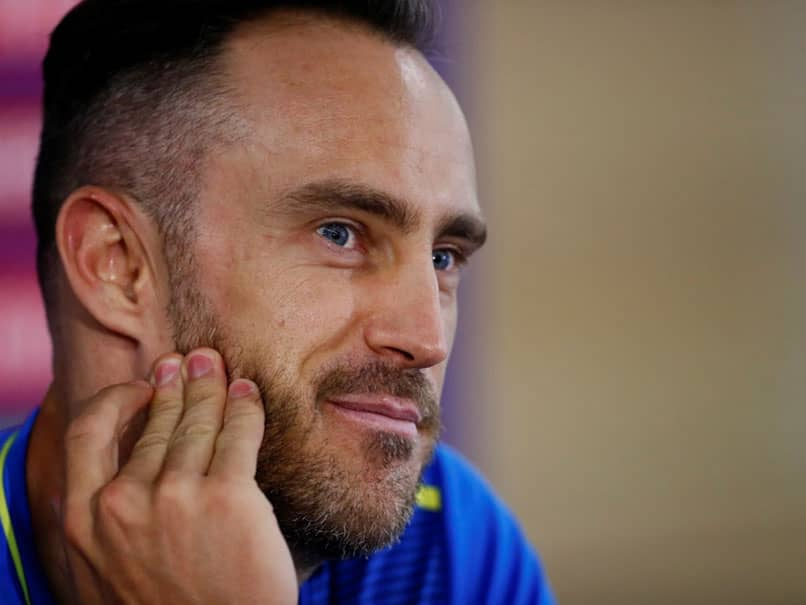 """Faf du Plessis Roasted On Twitter For """"Ridiculous"""" Statement On Toss, India Thrashing"""