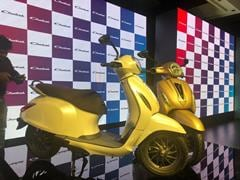 Bajaj Chetak Electric Scooter Unveiled; Deliveries To Commence From January 2020