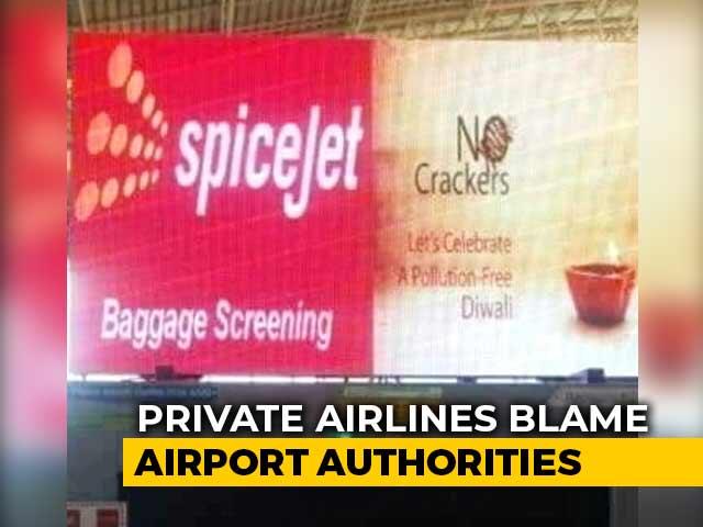 "Video : Madurai Airport ""Mess-Up"" Triggers SpiceJet-Firecracker Company Spat"