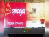 "Video : Madurai Airport ""Mess-Up"" Triggers SpiceJet-Firecracker Company Spat"