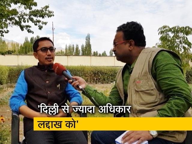 Videos : लद्दाख के सांसद जामयांग सेरिंग नामग्याल से NDTV की  खास बातचीत