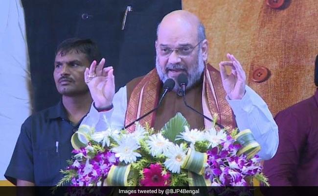 पश्चिम बंगाल में गरजे अमित शाह, कहा- ममता बनर्जी NRC पर लोगों को गुमराह कर रहीं, भाषण की 10 खास बातें