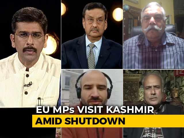 Video : Controversy Over EU MPs' Kashmir Tour