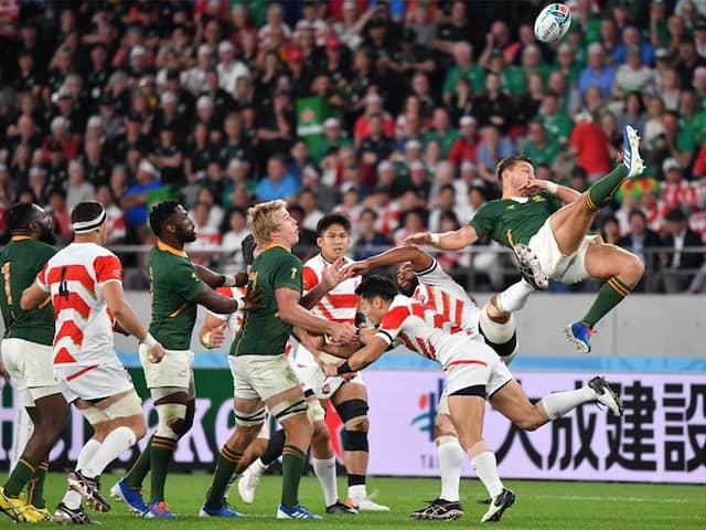 Rugby World Cup: South Africa End Japans Dream At Rugby World Cup