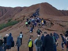 Hundreds In Australia Flock To Climb Uluru, Giant Monolith, For Last Time