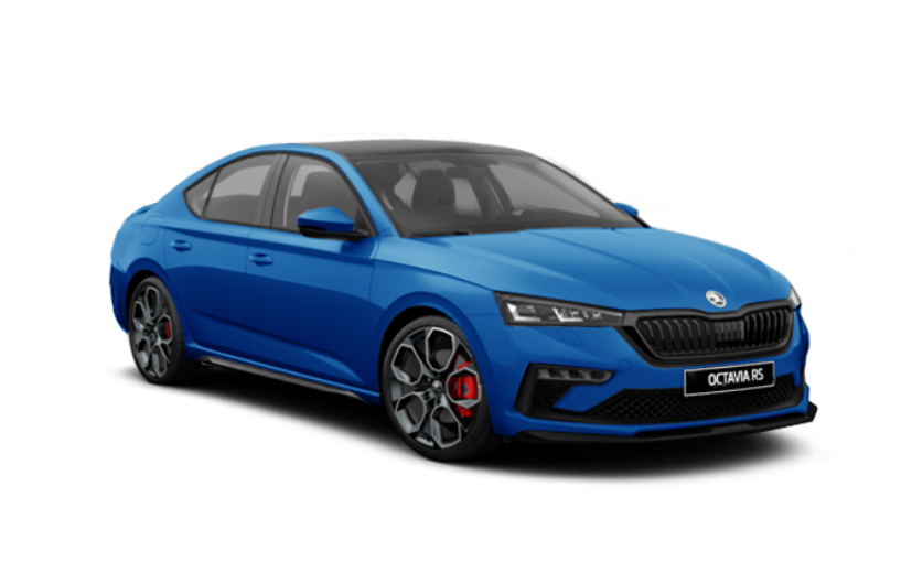The new-gen Skoda Octavia RS now gets sharper features with black exterior treatment
