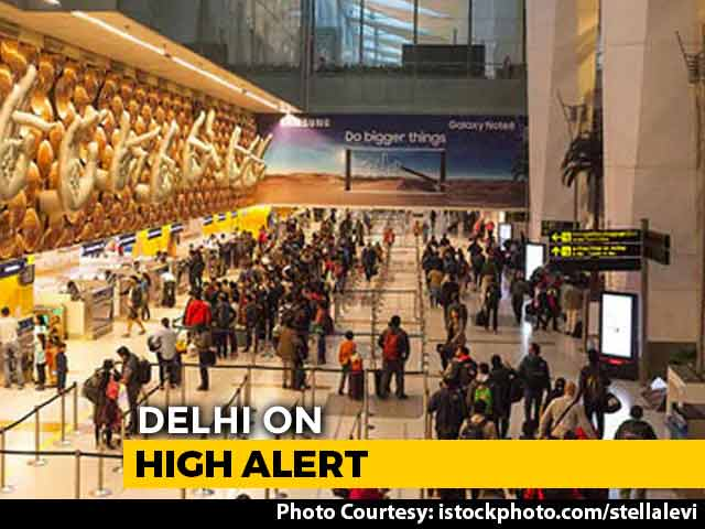Video : Airports In North India On Alert Amid Intel On Jaish Terrorists In Delhi