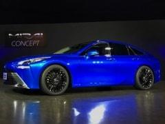 Toyota Unveils Revamped Mirai Hydrogen Sedan To Take On Tesla