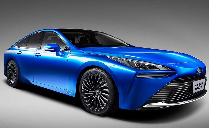 Toyota unveils revamped hydrogen sedan to take on Tesla