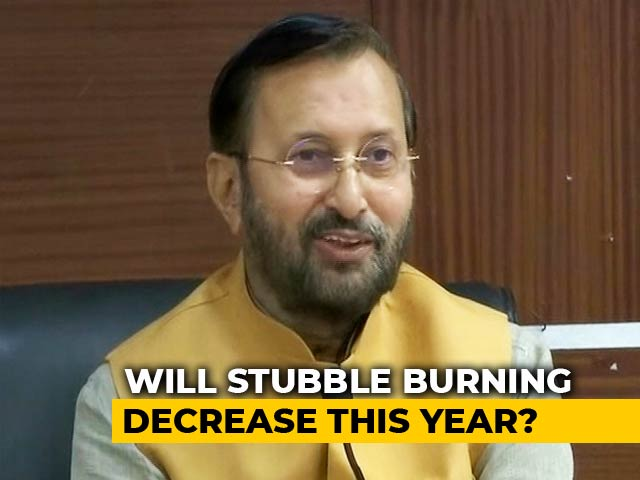 Video : Centre vs State In Credit War For Delhi's Air Quality; Farm Fires On Rise