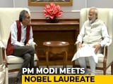 "Video : ""India Proud Of His Accomplishments"": PM After Meeting Abhijit Banerjee"
