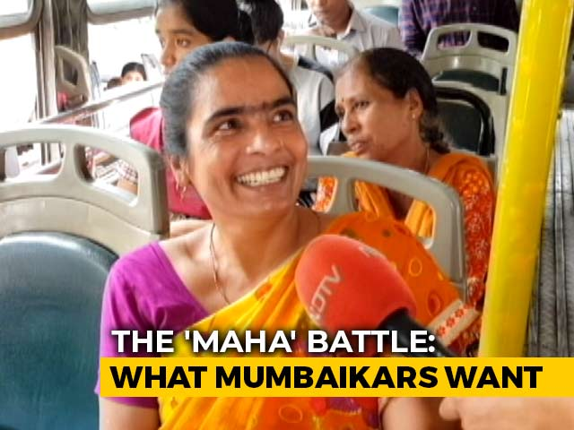 Video : Maharashtra Elections: What Does Mumbai Want From Its MLAs?
