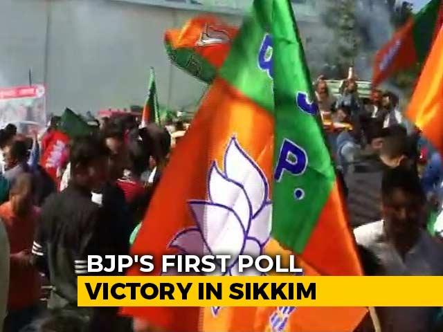 Video : BJP, Allies Strengthen Grip In Northeast; Win 8 Of 9 Seats In Bypolls