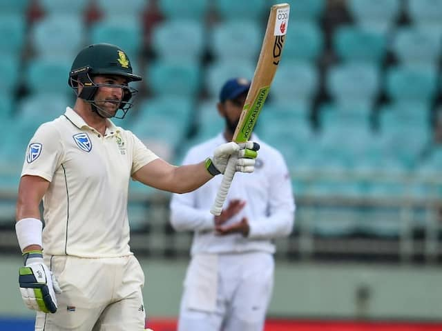 "Dean Elgar ""Would Definitely Have A Think"" If Offered South Africa Test Captaincy"