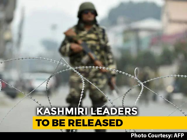 """Video : After Jammu Leaders, Those In Kashmir To Be Freed """"One By One"""""""