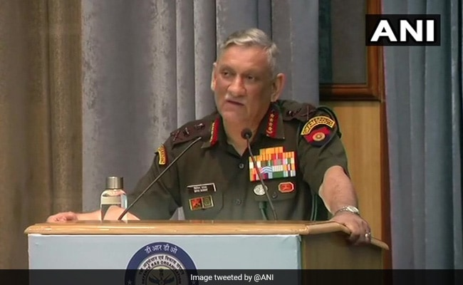 Will Be Working With Allies To Confront Emerging threats: Army Chief