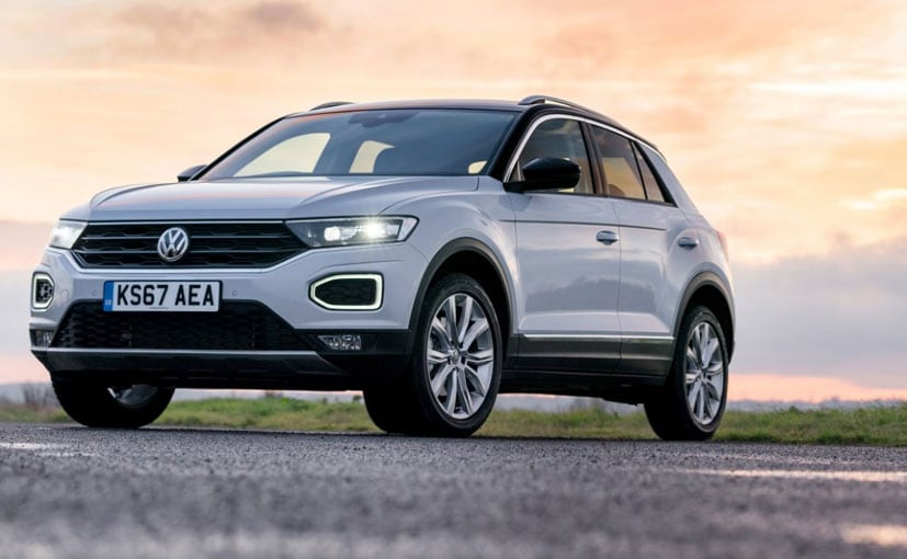 The Volkswagen T-Roc will be launched with only a turbo petrol engine and a 7-speed gearbox