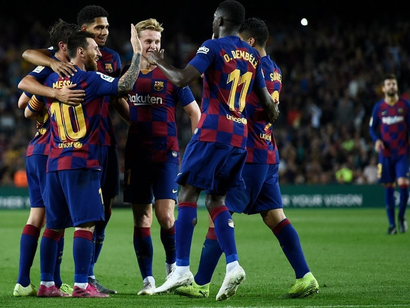 Barcelona vs Sevilla: Lionel Messi Scores His 1st Goal Of Season As Barcelona Run Riot