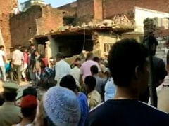 Uttar Pradesh: 12 Dead After Building Collapses Following Cylinder Blast In UP