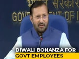 "Video : ""Diwali Cheer"": Government Staff's Dearness Allowance Raised By 5% To 17%"