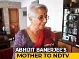 "Video : ""Will Tell Him Off..."" Nobel Economics Prize Winner's Mother To NDTV"
