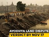Video : Section 144 Imposed In Ayodhya As Supreme Court Nears Verdict In Case