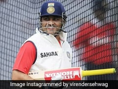 Virender Sehwag Gives Hilarious Reply To Michael Vaughan