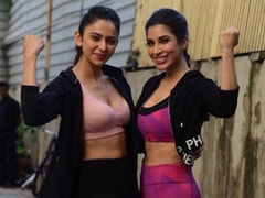 This Week's Dose Of Fitness Inspiration Is Brought To You By Rakul Preet Singh And Sophie Choudry