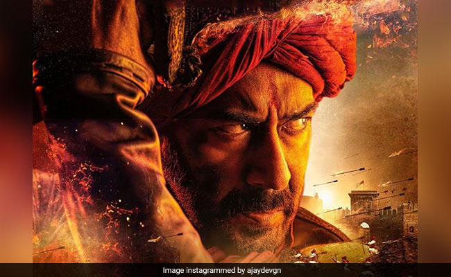 First Poster: Ajay Devgn In And As Tanhaji