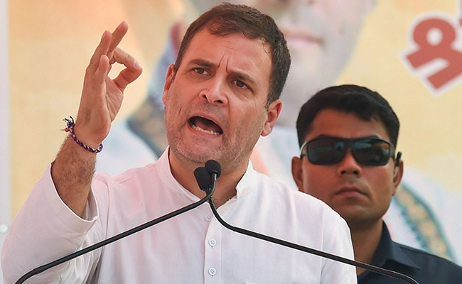 '3 Years Since The Demonetisation Terror Attack': Rahul Gandhi Hits Out