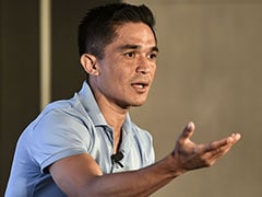 """I Am From Delhi But I Rarely Come Here"": Sunil Chhetri On Pollution"